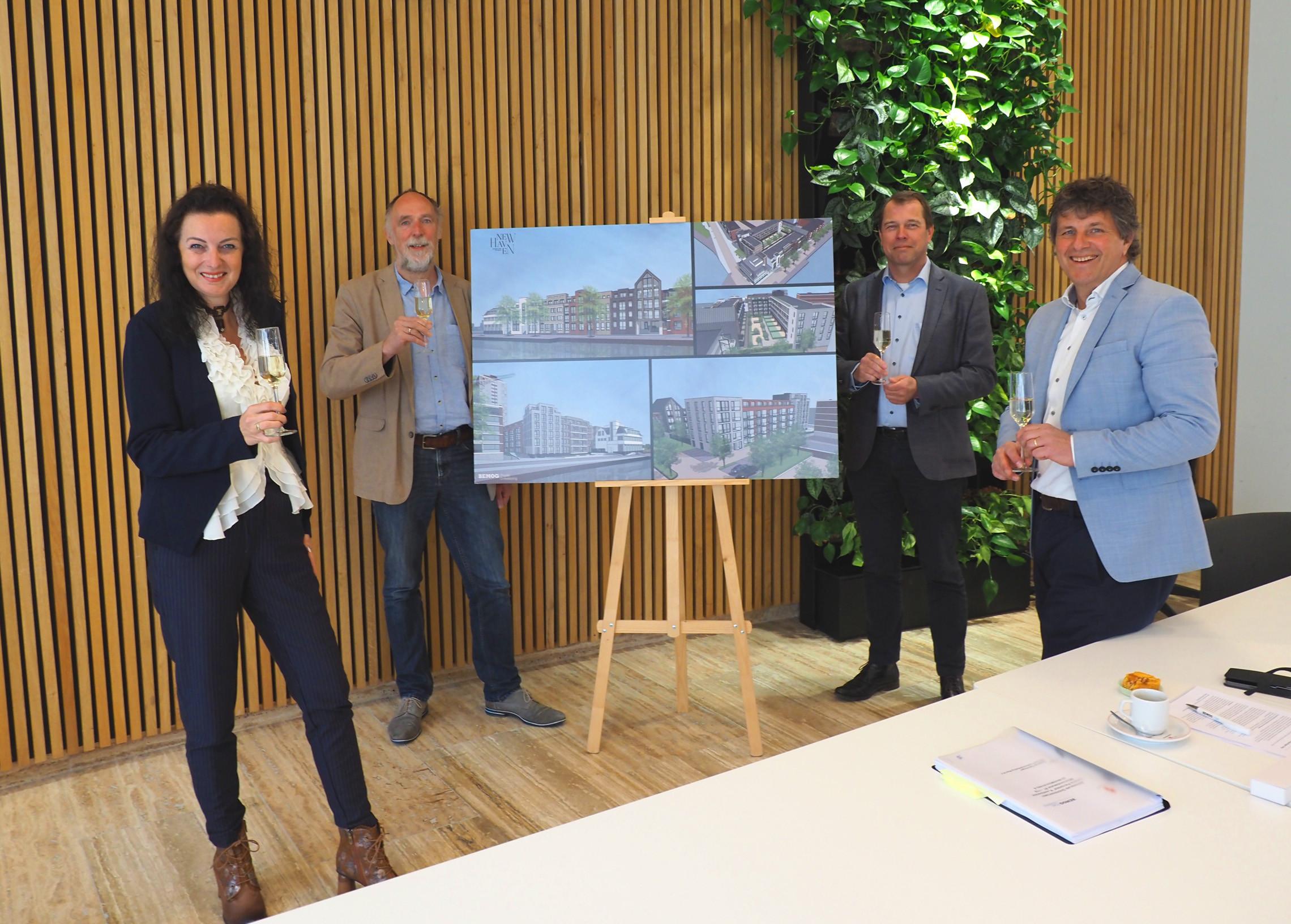 Anterieure overeenkomst getekend tussen Gemeente Vlaardingen en BEMOG.